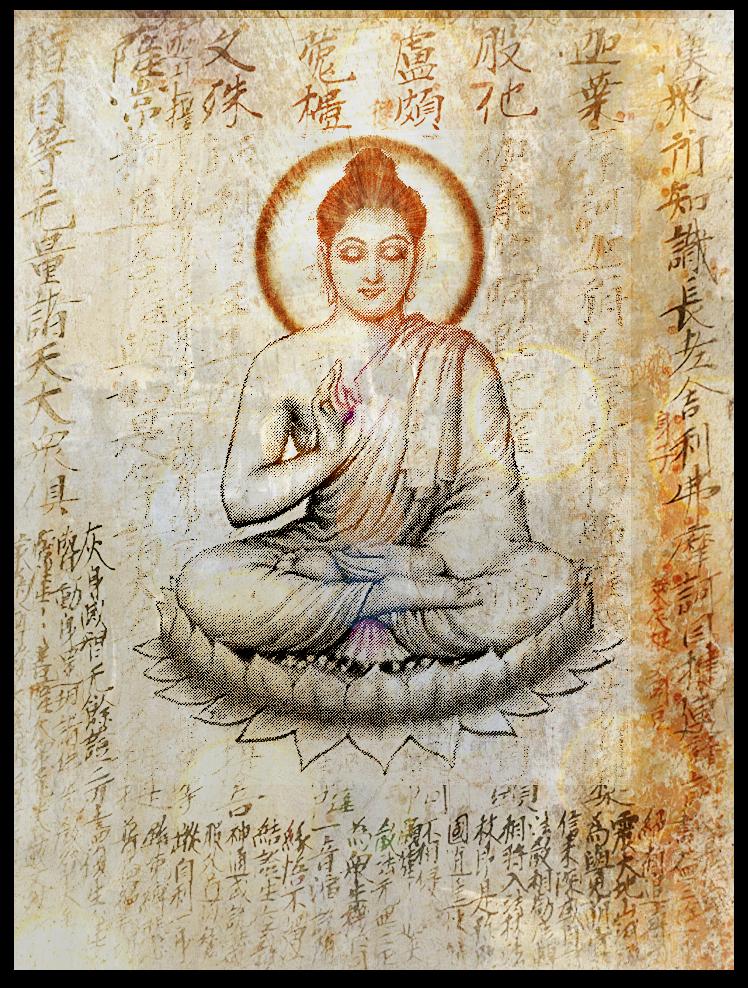 Shakya teach Amida2